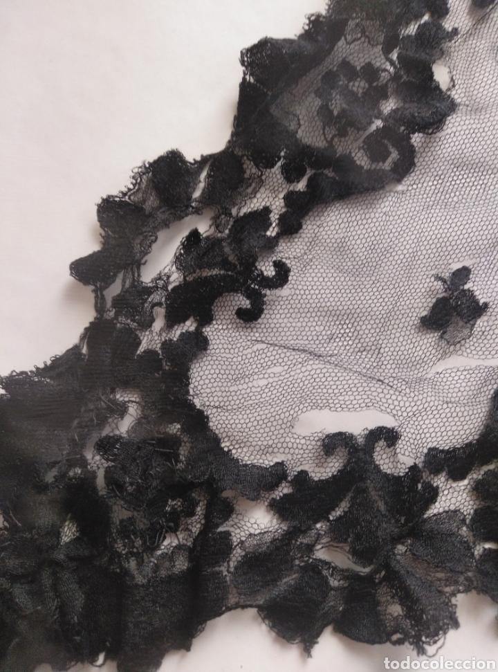 Antigüedades: Mantellina negra para cubrir cabeza en misa iglesia católica - Foto 5 - 179090190