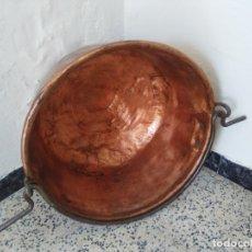 Antigüedades: ANTIGUO PEROL O PEROLO DE COBRE. Lote 179095036
