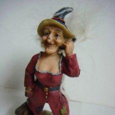Antigüedades: FIGURA DE BRUJA EXECUTIVE WITCH Nº-5 ES NUEVA. Lote 179101248