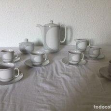 Antigüedades: JUEGO DE CAFE BAVARIA BAREUTHER-6 SERVICIOS-. Lote 179102420