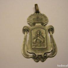 Antigüedades: ANTIGUA Y GRAN MEDALLA RELIGIOSA, CONGREGACION MARIANA DE GRACIA.. Lote 179108836