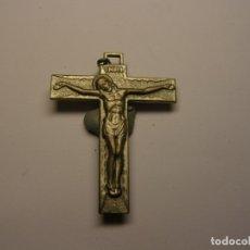 Antigüedades: ANTIGUA MEDALLA RELIGIOSA CRUCIFIJO, RELICARIO DE S. RAFAELA MARIA.. Lote 179109303