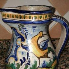 Antigüedades: ANTIGUA JARRA CERAMICA DE TRIANA. Lote 179109483
