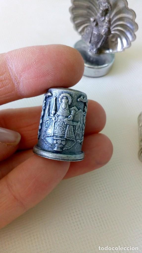 Antigüedades: LOTE DE 9 PEQUEÑOS OBJETOS DE SANTOS, VIRGENES.. - Foto 13 - 179109518