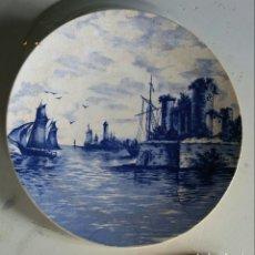 Antigüedades: PLATO ANTIGUA VILLEROY & BOCH. Lote 179110881