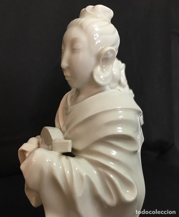 Antigüedades: Dioses orientales Algora de porcelana vidriada - Foto 12 - 179117836