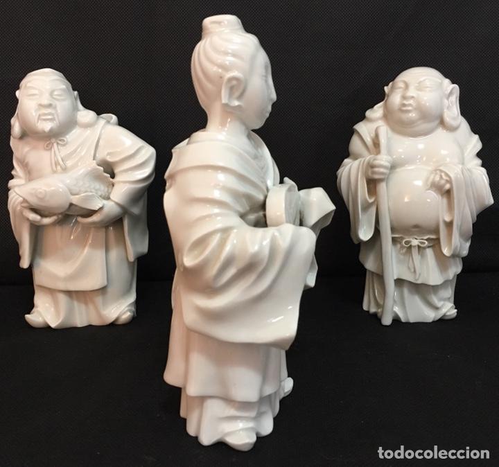 Antigüedades: Dioses orientales Algora de porcelana vidriada - Foto 14 - 179117836