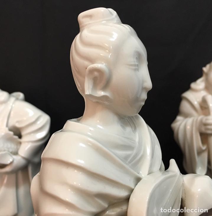 Antigüedades: Dioses orientales Algora de porcelana vidriada - Foto 15 - 179117836