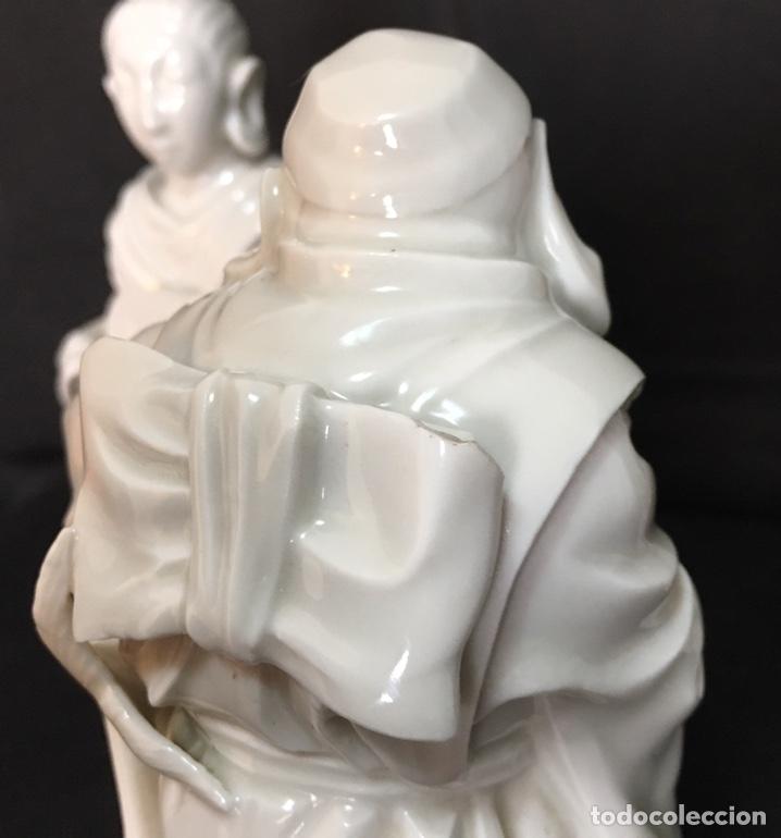 Antigüedades: Dioses orientales Algora de porcelana vidriada - Foto 22 - 179117836