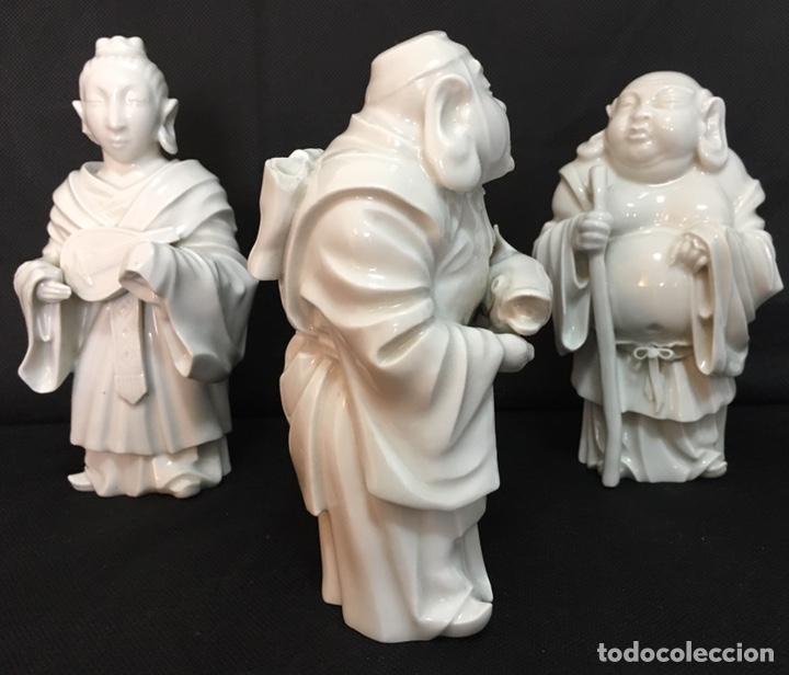 Antigüedades: Dioses orientales Algora de porcelana vidriada - Foto 23 - 179117836