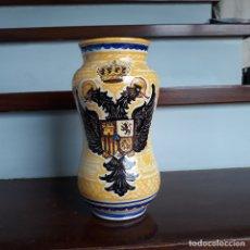 Antigüedades: ALBARELO RAMOS REJANO. MARCAS EN LA BASE. 23 CM.. Lote 179119925