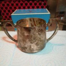 Antigüedades: ANTIGUA JARRITA DE PLATA. Lote 179127420