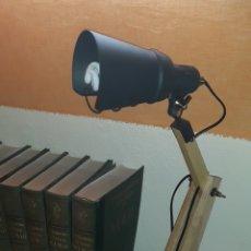 Antigüedades: LAMPARA INDUSTRIAL. Lote 179128043