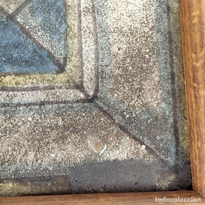 Antigüedades: AZULEJO DE ESTILO RENACENTISTA. CERÁMICA ESMALTADA. CATALUNYA. ESPAÑA. XVI-XVII - Foto 5 - 179143828
