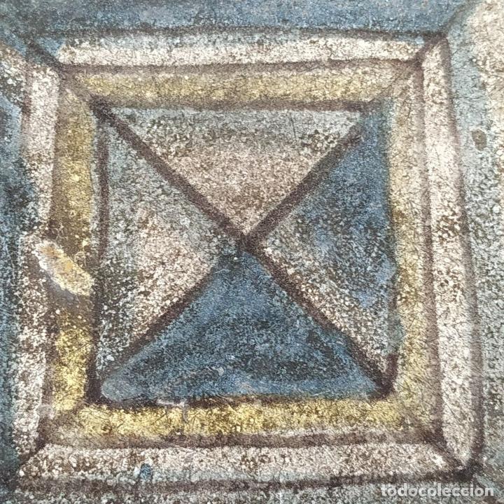 Antigüedades: AZULEJO DE ESTILO RENACENTISTA. CERÁMICA ESMALTADA. CATALUNYA. ESPAÑA. XVI-XVII - Foto 6 - 179143828