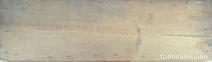 Antigüedades: COMPOSICIÓN DE 4 AZULEJOS BARROCOS DE OFICIOS. CERÁMICA CATALANA. SIGLO XVIII. - Foto 3 - 179148135