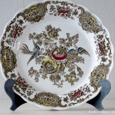 Antigüedades: PLATO DECORATIVO DE RIDGWAY. Lote 179155423