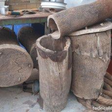 Antigüedades: COLMENAS ANTIGUAS DE CORCHO LOTE DE 5 UDS. . Lote 179157248