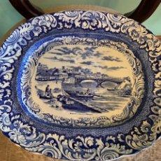 Antigüedades: FABULOSA FUENTE DE SARGADELOS VISTAS DE CUBA. Lote 179169556