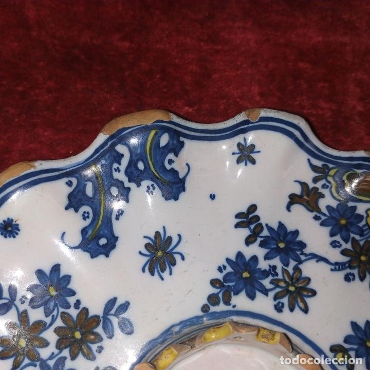 Antigüedades: MANCERINA ALCORA. CERÁMICA ESMALTADA. ESPAÑA. SIGLO XVIII - Foto 2 - 179171181