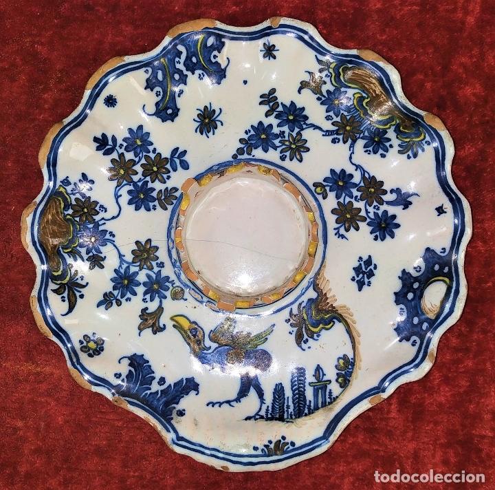 MANCERINA ALCORA. CERÁMICA ESMALTADA. ESPAÑA. SIGLO XVIII (Antigüedades - Porcelanas y Cerámicas - Alcora)