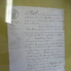 Antigüedades: CARTA ANTIGUA. Lote 179172000