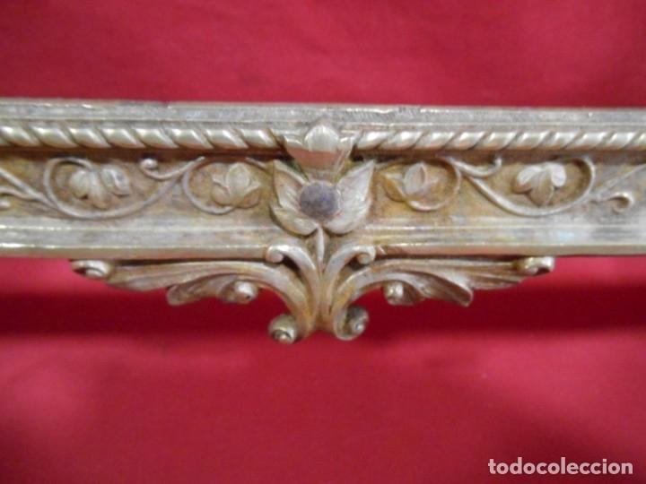 Antigüedades: ANTIGUA SACRA DE BRONCE DORADO - NEOGOTICA -. CIRCA 1900 - - Foto 5 - 179181233