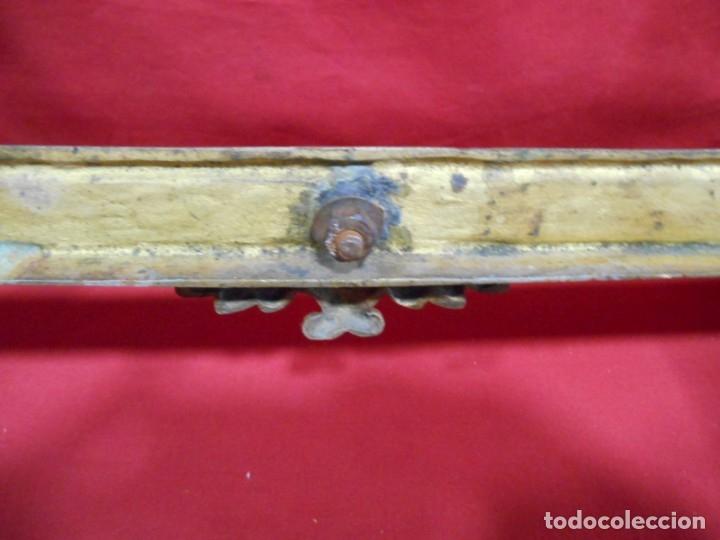 Antigüedades: ANTIGUA SACRA DE BRONCE DORADO - NEOGOTICA -. CIRCA 1900 - - Foto 9 - 179181233