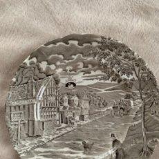 Antigüedades: PLATO ANTIGÜO DE PONTESA. Lote 179185672
