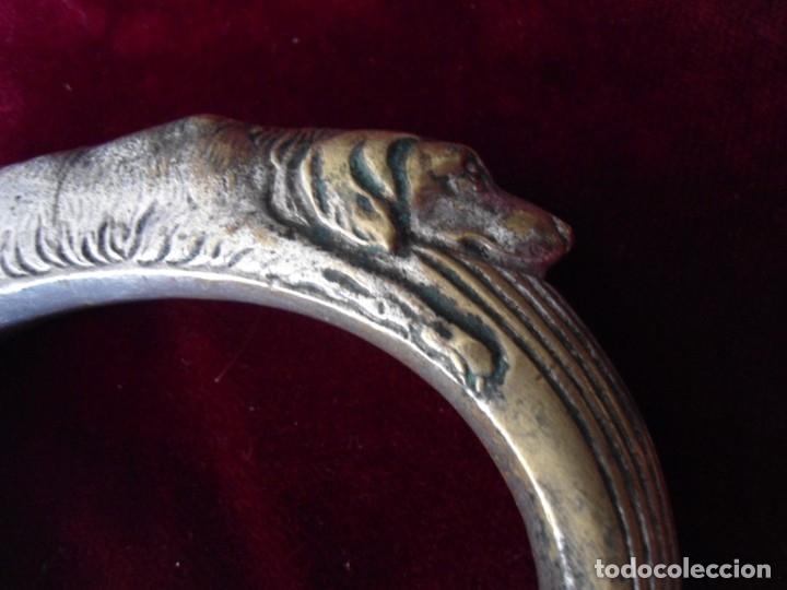 Antigüedades: ANTIGUA EMPUÑADURA DE BASTON - Foto 2 - 179193365