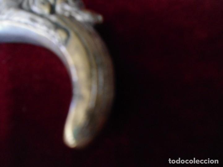 Antigüedades: ANTIGUA EMPUÑADURA DE BASTON - Foto 4 - 179193365