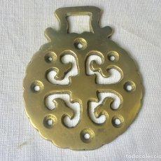 Antigüedades: ANTIGUO ARREO, HEBILLA, MEDALLON, AMULETO HIPICA. Lote 179212377