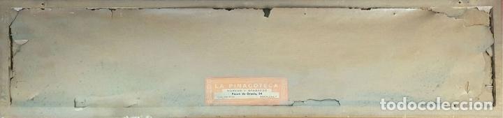 Antigüedades: COMPOSICIÓN DE 5 AZULEJOS BARROCOS. CERÁMICA CATALANA. SIGLO XVII-XVIII. - Foto 2 - 179216127