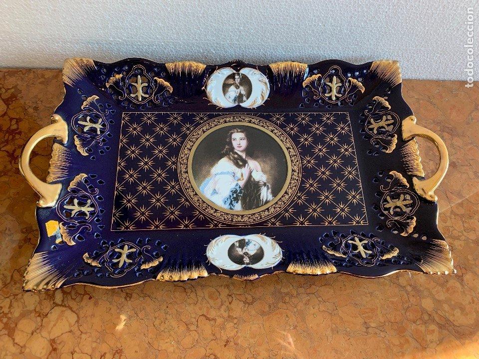 BANDEJA DE PORCELANA (Antigüedades - Porcelanas y Cerámicas - Otras)