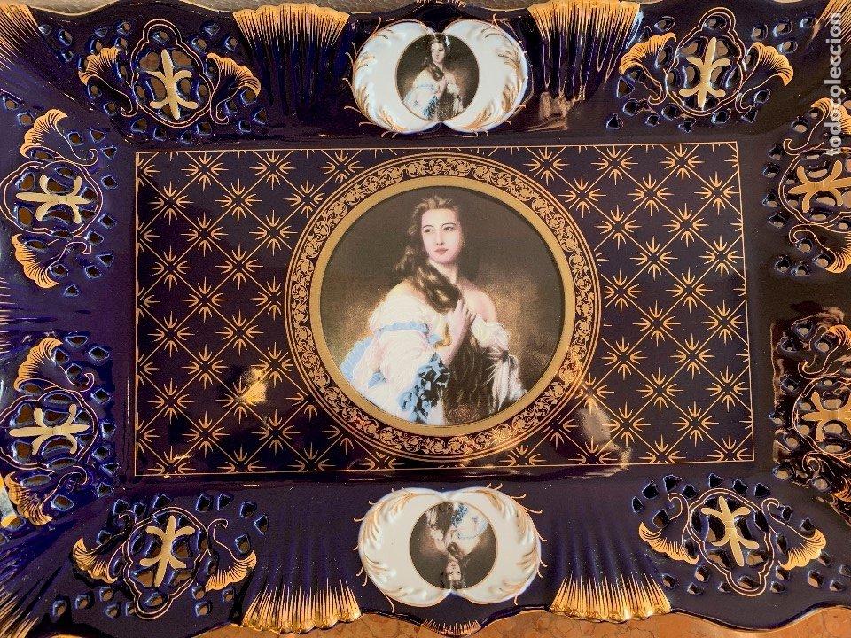 Antigüedades: BANDEJA DE PORCELANA - Foto 2 - 179235500