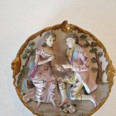 Antigüedades: PLATO RELIEVE CERAMICA JAPON. Lote 179238681