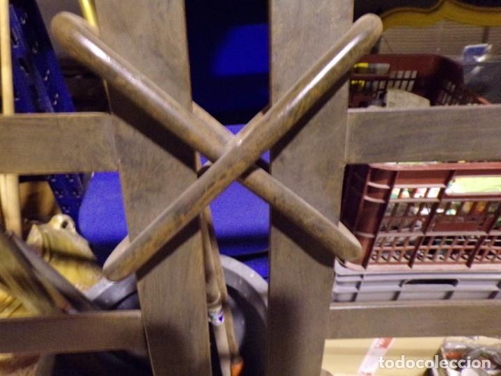 Antigüedades: cabezal hierro forjado - Foto 2 - 179239357