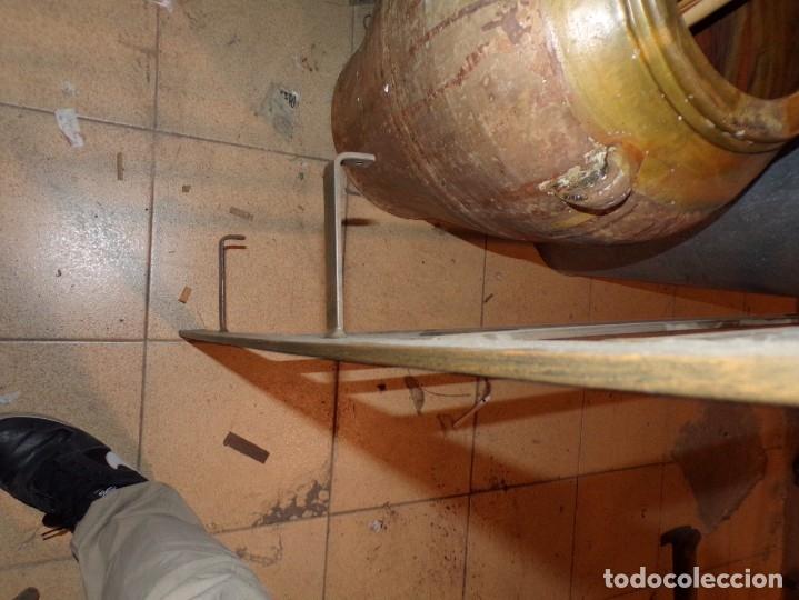 Antigüedades: cabezal hierro forjado - Foto 4 - 179239357