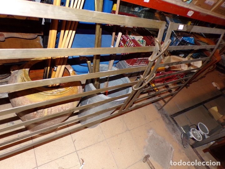 Antigüedades: cabezal hierro forjado - Foto 5 - 179239357