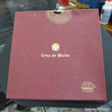 Antigüedades: CUBERTERIA J. S. ELCANO CRUZ DE MALTA COMPLETA. Lote 179242441