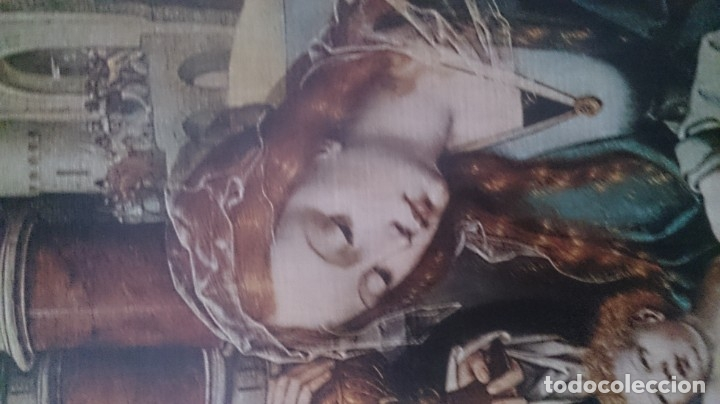 Antigüedades: Típico religioso 72x40ctms. 2500 gms - Foto 3 - 179252583