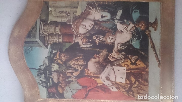 Antigüedades: Típico religioso 72x40ctms. 2500 gms - Foto 11 - 179252583
