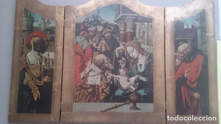 Antigüedades: Típico religioso 72x40ctms. 2500 gms - Foto 17 - 179252583
