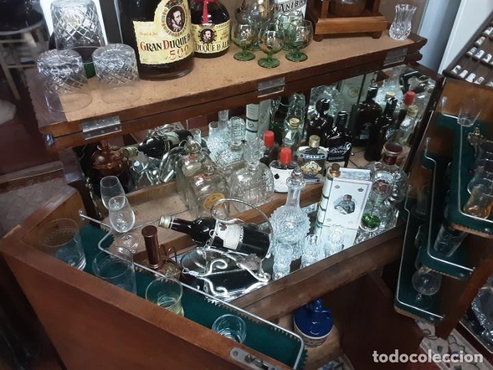 Antigüedades: Mueble bar. Años 40. Madera maciza. Maravilloso mueble para su salón o bodega. - Foto 11 - 179277490