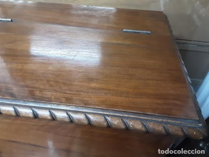 Antigüedades: Mueble bar. Años 40. Madera maciza. Maravilloso mueble para su salón o bodega. - Foto 16 - 179277490
