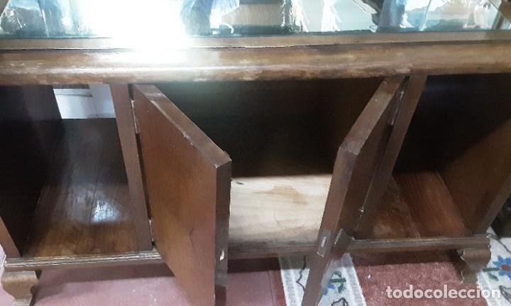 Antigüedades: Mueble bar. Años 40. Madera maciza. Maravilloso mueble para su salón o bodega. - Foto 21 - 179277490