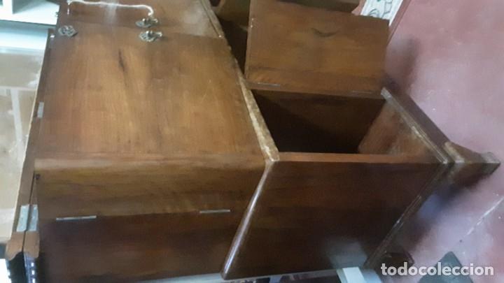 Antigüedades: Mueble bar. Años 40. Madera maciza. Maravilloso mueble para su salón o bodega. - Foto 22 - 179277490