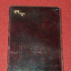 Antigüedades: CARTERA DE PIEL. Lote 179311518