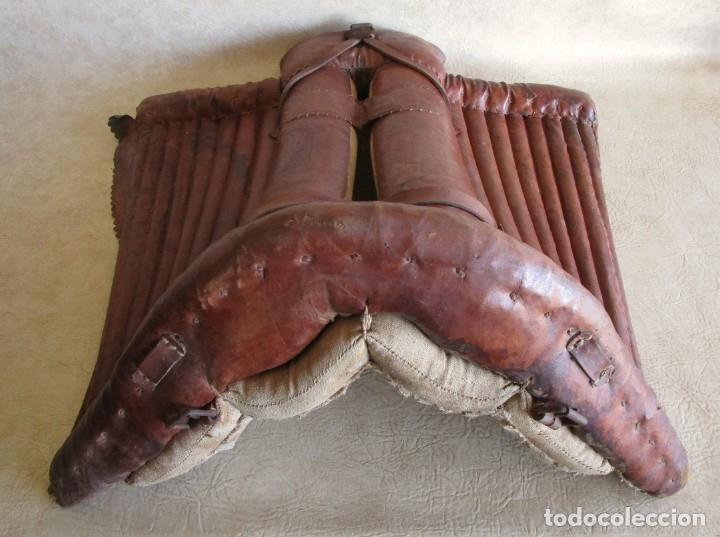Antigüedades: antigua silla o montura de caballo - Foto 3 - 179318017