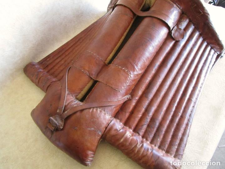 Antigüedades: antigua silla o montura de caballo - Foto 6 - 179318017